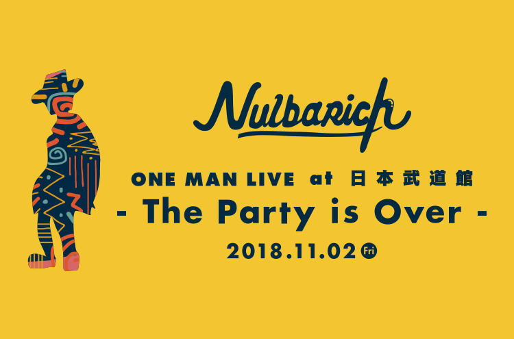 Nulbarich ONE MAN LIVE at 日本武道館